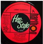 "45Re✦LARRY CLINTON""She's Wanted""✦JESSE JAMES""Love Is All Right"" ✦Northern Soul ♫"